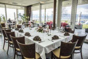 banquets restaurant au bord du lac de neuchatel a portalban fribourg mariage